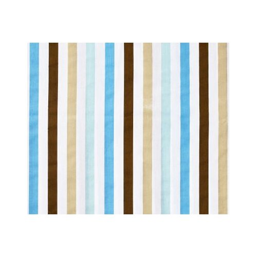 Bacati Mod Diamonds and Stripes Crib Fitted Sheet