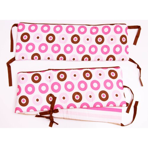 Mod Dots and Stripes Bumper Pad