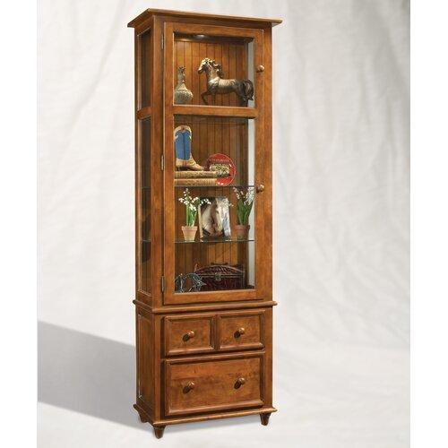 Philip Reinisch Co. ColorTime Vista Curio Cabinet