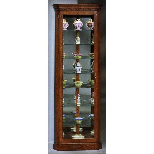 Lighthouse Octave Corner Curio Cabinet