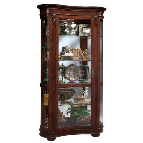 Contour Kidney Curio Cabinet