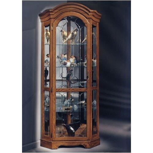 Barrington Corner Curio Cabinet