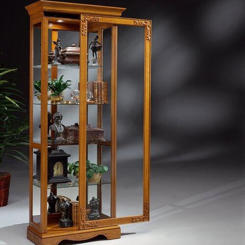 Traditional Oak Andante II Curio Cabinet