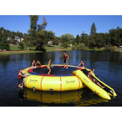 Island Hopper 25' Giant Jump Heavy Commercial Water Trampoline