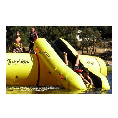 Island Hopper Water Trampoline Slide