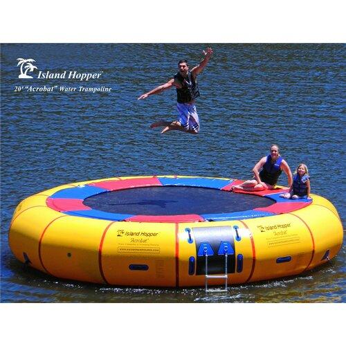 Island Hopper 20' Acrobat Heavy Commercial Water Trampoline