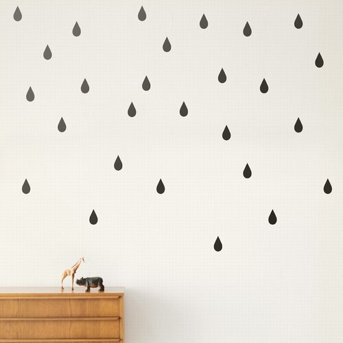 ferm LIVING Mini Drops Wall Decal
