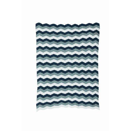 ferm LIVING Zag Knitted Cotton Blanket
