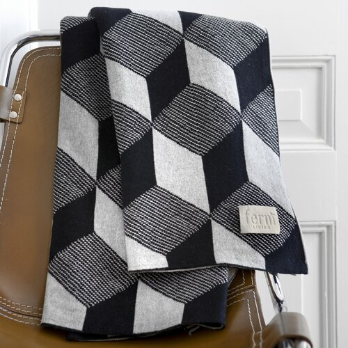 ferm LIVING Squares Cotton Blanket