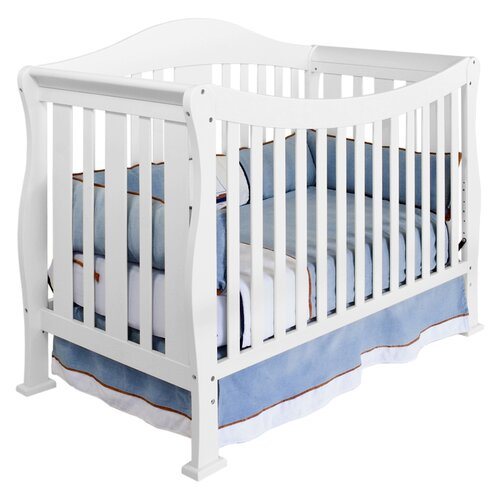 Parker 4-in-1 Convertible Crib with Toddler Bed Conversion Kit
