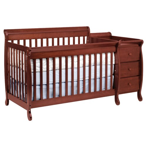 Kalani Crib and Changer Combo with Toddler Bed Conversion Kit