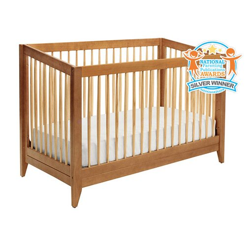 Highland 4-in-1 Convertible Crib with Toddler Bed Conversion Kit
