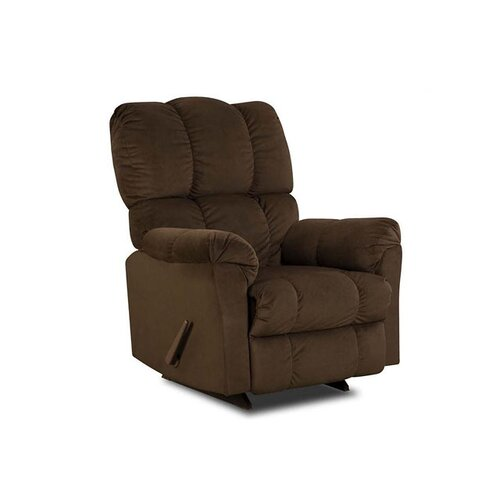 Top Hat Microfiber Club Recliner