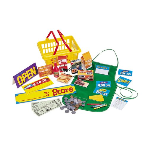 Pretend Play Supermarket 93 Piece Set
