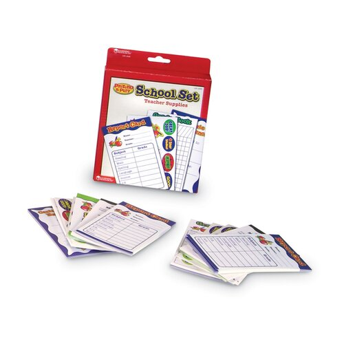 Learning Resources Pretend Play School Accessory Kit 210 Piece Set