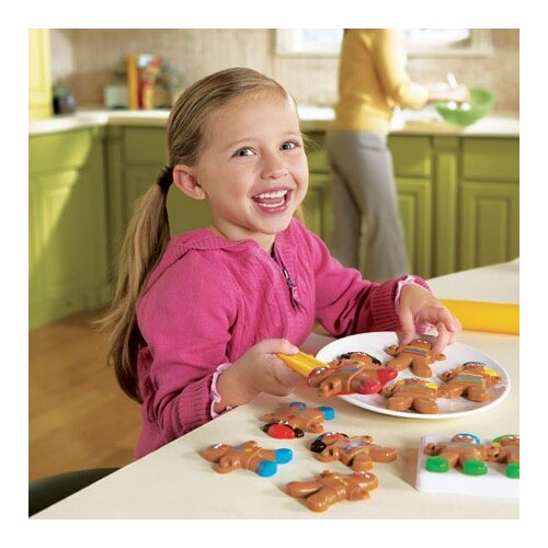 Learning Resources Smart Snacks 12 Piece Gingerbread Sort and Snap Set