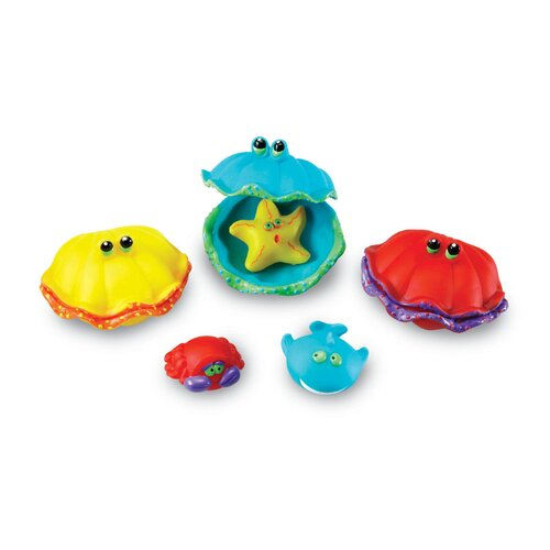Smart Splash Memory Match Clams 12 Piece Set