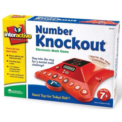 Learning Resources Number Knockout™ Electronic Math Game