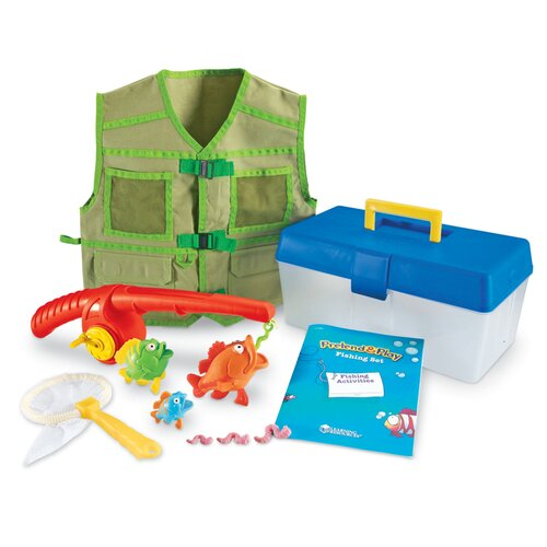 Pretend and Play Fishing Set 11 Piece Set