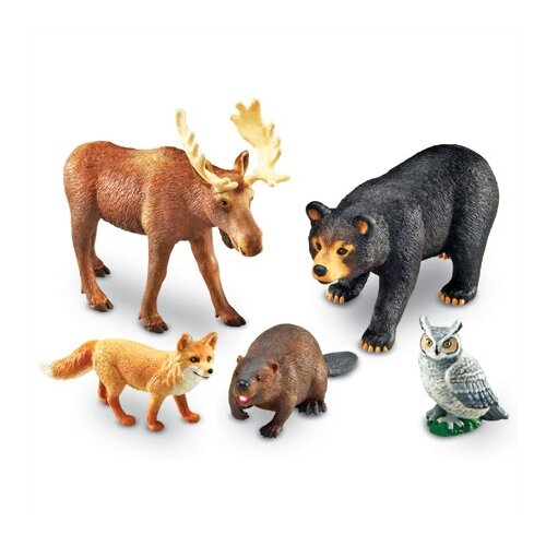 Learning Resources Jumbo Animals Forest Animals
