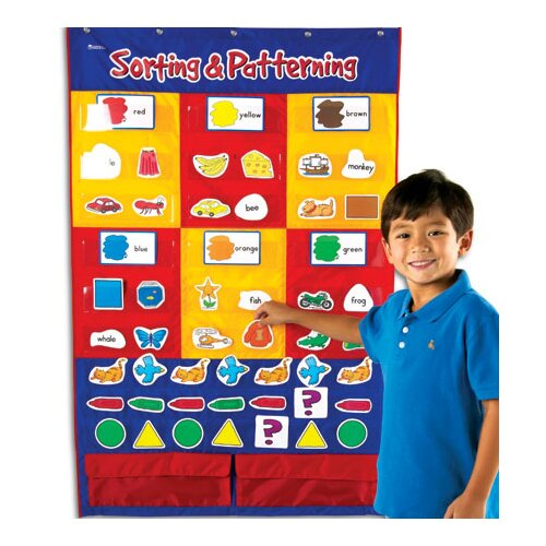 Learning Resources Sorting and Patterning Pocket Chart