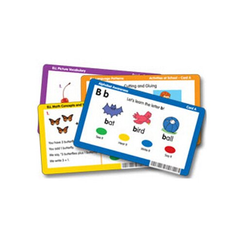 Learning Resources Rhyming Word Families CD Card 41 Piece Set