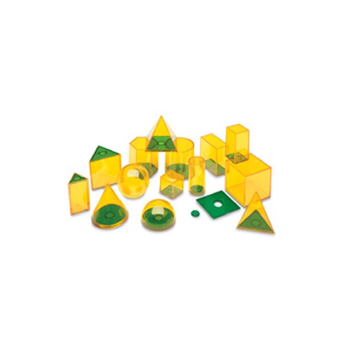Learning Resources Relational Geosolids 42 Piece Set