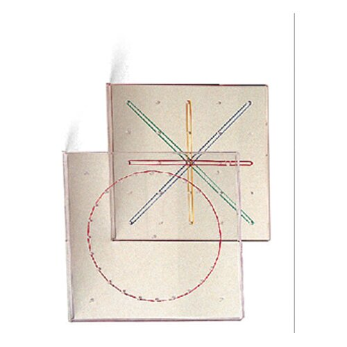 Learning Resources Geoboard 5 X 5 Transparent 7-1/4