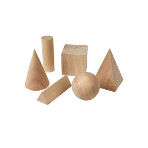 Learning Resources Basic Geometric Solids 6 Piece Set