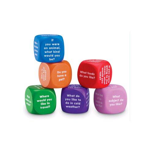 Learning Resources Conversation Cubes 6 Piece Set