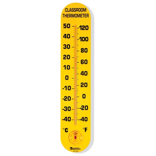Classroom Thermometer 15h X 3w