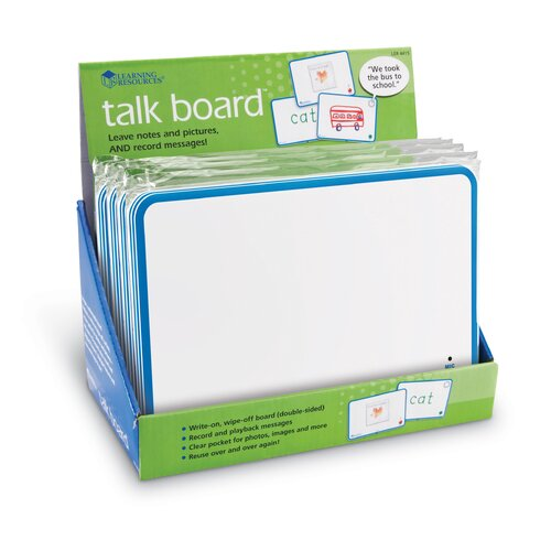 Learning Resources Talk Time Recordable Board