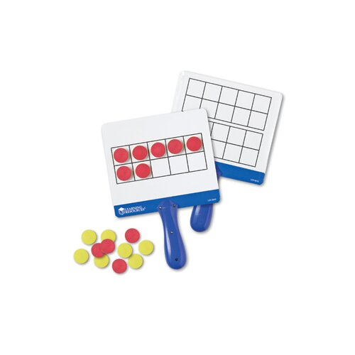 Learning Resources Magnetic Ten Frame Answer Board