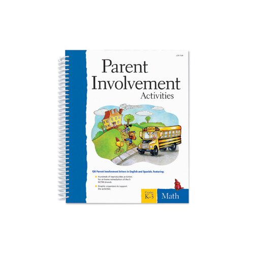 Learning Resources Parent Involvement Activities: Math, Grades K-3