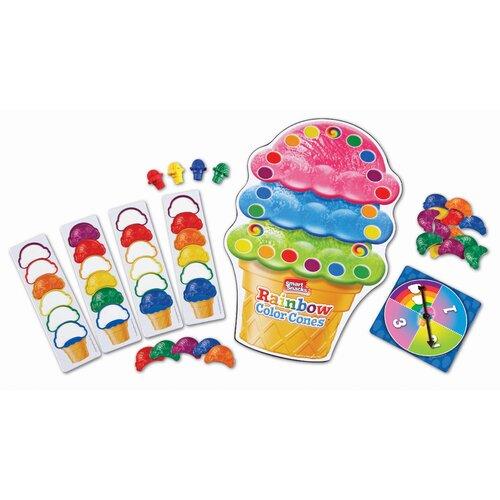 Rainbow Color Cones Game