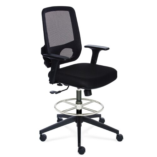 Valo Height Adjustable Sync Stool Chair with Mesh Back