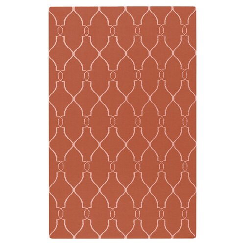 Fallon Coral/Ivory Rug