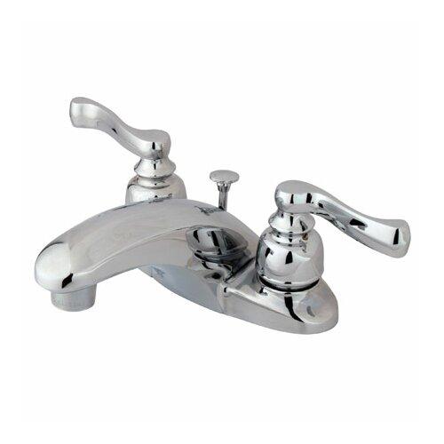 Elements of Design Royale Centerset Bathroom Faucet with Double Lever Handles