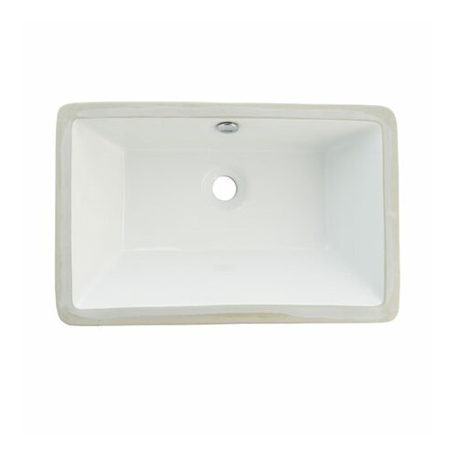 Elements of Design Castillo Undermount Bathroom Sink