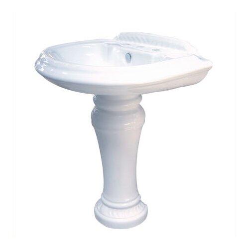 Elements of Design Naples Center Pedestal Sink
