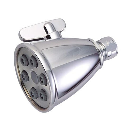 Elements of Design Hot Springs 6 Nozzles Power Jet Volume Control Shower Head