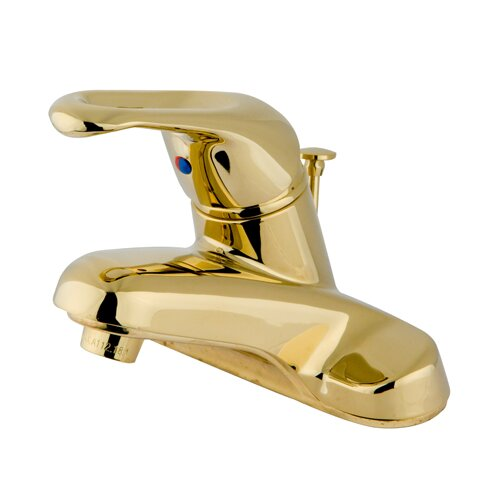 Elements of Design Centerset Bathroom Sink Faucet with Single Handle
