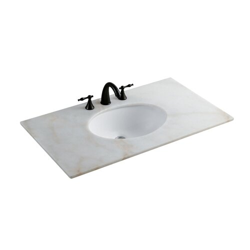 Elements of Design Undermount Oval Bathroom Sink