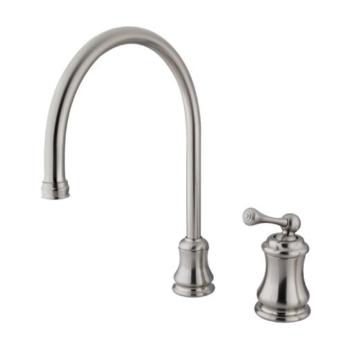 Elements of Design Restoration Widespread Kitchen Faucet with Buckingham Lever Handle
