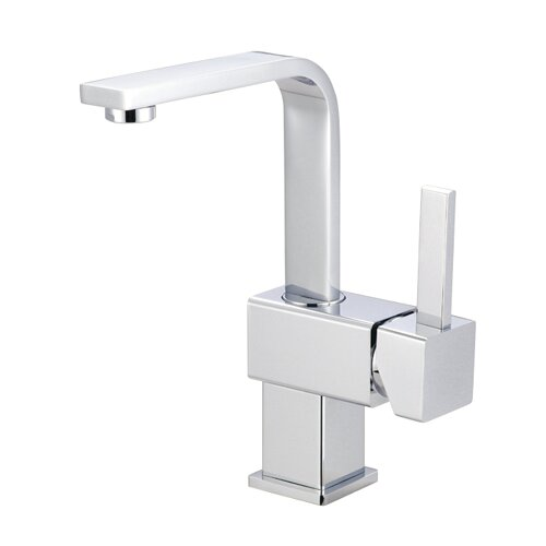 Rio Single Handle Bathroom Faucet with Push Up Drain