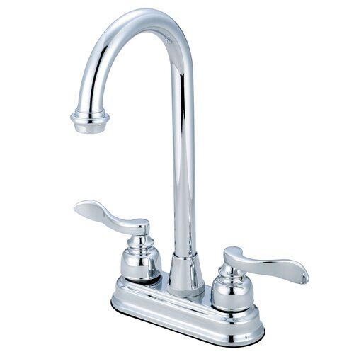 NuWave French Double Handle Bar Faucet