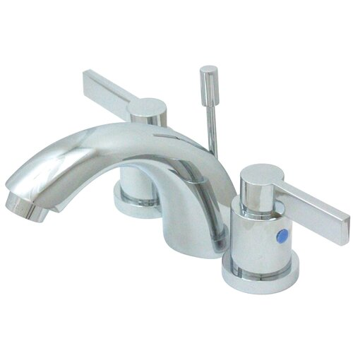 Elements of Design NuvoFusion Double Handle C Spout Mini Widespread Bathroom Faucet