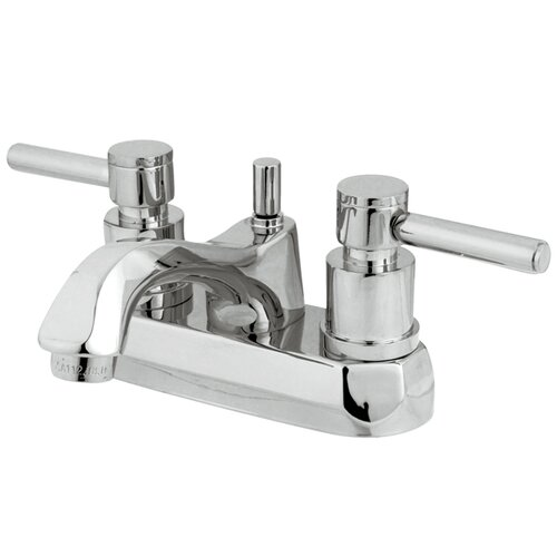 Concord Double Handle Centerset Bathroom Faucet