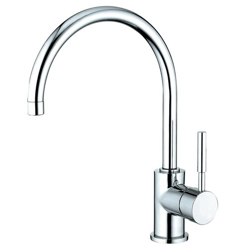 Elements of Design Concord Single Handle Kitchen Faucet with Plate