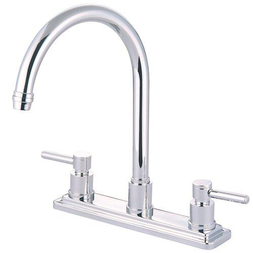 Elements of Design Concord Double Handle Kitchen Faucet